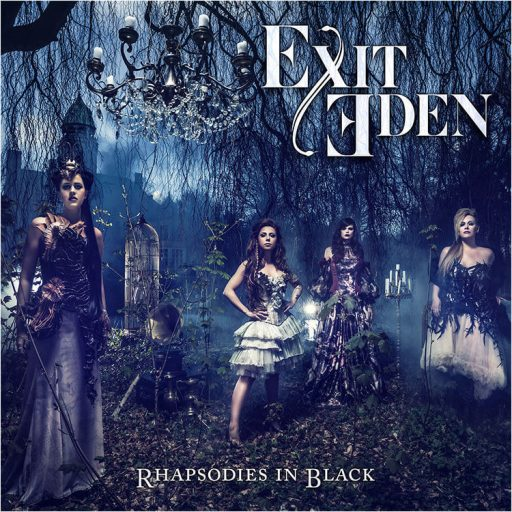 exit eden rhapsodies in black album cover